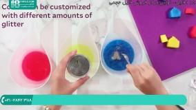 آموزش صابون سازی ساخت صابون صابون گیاهی (صابون بچه برای پوست چرب)