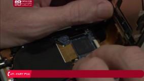 آموزش تعمیر دوربین عکاسی | تمیز کردن سنسور سی سی دی لنز RX100