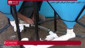 آموزش کاشت گیاهان گلخانه ای - نصب مخزن مواد معدنی