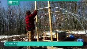 آموزش کاشت گیاهان گلخانه ای - آموزش ساخت گلخانه تونلی