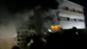 مرگ ۳۶ نفر در آتشسوزی بیمارستانی در عراق