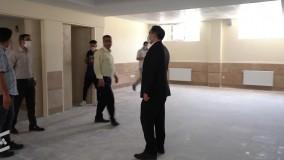 بازدید شهردار از مدرسه کاشانی وایین