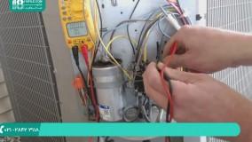 آموزش تعمیر کولر گازی|تعمیر کولرآبی|تعمیر اسپیلت(میزان مبرد در تهویه مطبوع)