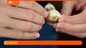 آموزش آشپزی | آشپزی آسان | پخت غذا (پخت ماهی برگر با سس تارتار)