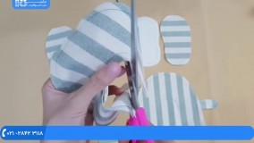 آموزش سیسمونی نوزاد | دوخت لباس | دوخت لوازم نوزاد (دوخت پاپوش روفرشی شیک)
