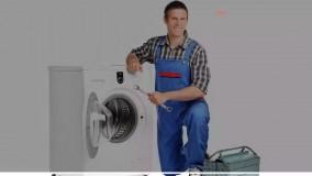 آموزش تعمیر لباسشویی / روش باز کردن گردونه تقسیم کننده آب جاپودری لباسشویی