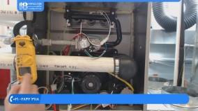 آموزش تعمیر کولر گازی /آموزش جوشکاری وعیب یابی اواپراتور