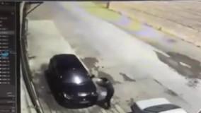 به آتش کشیدن خودرو توسط افراد ناشناس در اصفهان