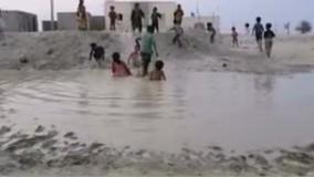 شادی دیدنی کودکان محروم در سیستان و بلوچستان