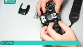 آموزش تعمیر دوربین عکاسی - دوربین عکاسی حرفه ای حل( دوربین کانن 550D)