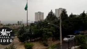 تصاویری از باران تابستانی در تهران