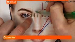 آموزش تاتو صورت _تفاوت میکروبلیدینگ ابرو [ فیبروز ابرو ] با تاتو ابرو