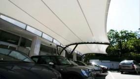 سقف خیمه ای پارکینگ-سایبان چادری محوطه پارکینگ-09380039391حقانی