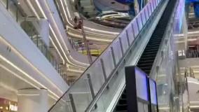 خلاقیت یک مرکز خرید در چین برای طراحی پله برقی