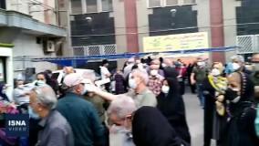وضعیت اسف بار واکسیناسیون سالمندان در تهران