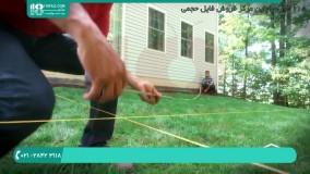 آموزش ساخت حفاظ   نصب حفاظ پله ( نصب حفاظ پله )