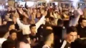 ویدیویی دیگر از تجمع دیشب خوزستانی های مقیم مشهد در حرم امام رضا