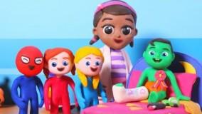 برنامه کودک السا و انا   انیمیشن السا و انا   با داستان شکستگی پا