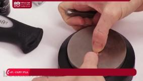 آموزش جواهرسازی _ سوار کردن سنگ بر روی انگشتر وگردنبند