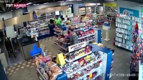 گاوی که برای خرید به سوپر مارکت رفت !