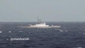 حضور ناوگروه نیروی دریایی ارتش در اقیانوس اطلس
