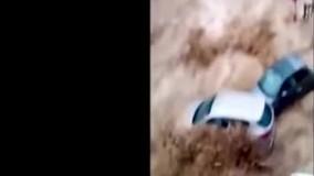 غوطه خوردن خودروها در سیلاب سهمگین بلژیک