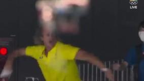 خوشحالی عجیب مربی استرالیا پس از کسب مدال طلا