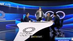 دفاعیه مجری جنجالی شبکه ۳ روی آنتن زنده