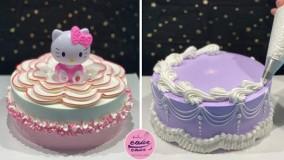 آموزش کیک آرایی فوق العاده مناسب جشن تولد