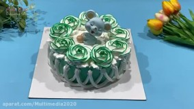 ترفندهای جدید کیک آرایی بانوان با ايده های جدید