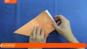 آموزش اوریگامی :: ساخت کاردستی :: اوریگامی متحرک :: ساخت تانک با مقوا