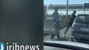 زورگیران آزادراه تهران - کرج در دام پلیس
