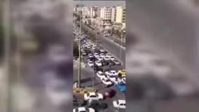 شرایط اسفناک یکی از چهارراههای تهران در هنگام قطعی برق