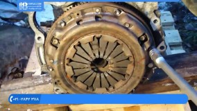 تعمیر موتور تویوتا - تعمیر موتور تویوتا - کلاچ بازکردن موتور