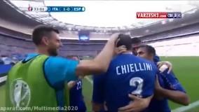 بازی ایتالیا 2-0 اسپانیا / ورزشی یورو 2016