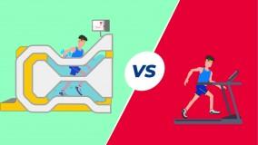 تفاوت تردمیل آبی آکوامیل سیستم هیدورتراپی و ورزشی با تردمیل معمولی