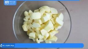 آموزش درست کردن مربا | طرز تهیه مربا | مربا (تهیه مارمالاد و مربا سیب زرد)