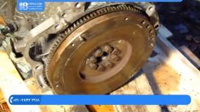 آموزش تعمیر موتور تویوتا | تعمیر موتور تویوتا | خودرو تویوتا | میل لنگ بازکردن موتور