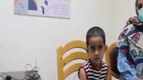 کودکی که برای اولین بار صدای مادرش را شنید