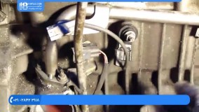 آموزش تعمیر موتور تویوتا | تعمیر موتور تویوتا | سنسور ضربه بازکردن موتور