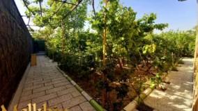 1000 متر باغ ویلای مشجر در شهریار با 200 متر بنای دوبلکس