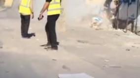 ضرب و شتم یک حاشیه نشین توسط ماموران شهرداری