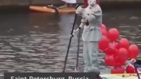 جشنواره قایق رانی در سنپترزبورگ روسیه