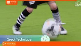 فوتبال به کودکان-آموزش تکنیک فوتبال-کنترل توپ و پاس کاری