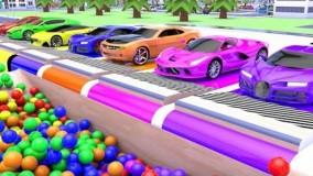 کارتون تماشایی ماشین ها | برنامه کودک ماشین های رنگی | ماشین های خوشگل رنگی