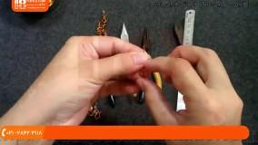 ساخت زیورآلات با مس-ساخت زیورآلات-انگشتر مسی با سنگ های کریستال