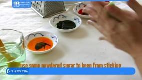 آموزش آشپزی آسان|آموزش پخت غذا|پخت غذای خشمزه(طرز تهیه تارت میوه ای بدون فر)