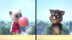 کارتون گربه سخنگو | انیمیشن گربه سخنگو با داستان موز های خوشمزه