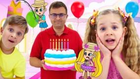 کارتون دیانا و روما جدید | بهترین جشن تولد دیانا و روما | دیانا شو سرگرمی