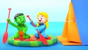 کارتون خمیری السا و انا | برنامه کودک السا و انا بستنی شکلاتی